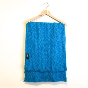 Zara Long Scarf in Bright Blue
